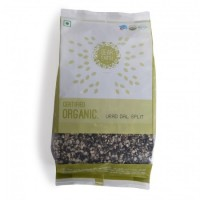 Dear Earth Organic Urad Dal Split ( Urad Chilka Daal )