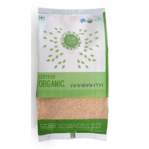 Dear Earth Organic Amaranth (Rajgira),  500 GM