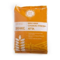 Dear Earth Organic Wheat Chakki Atta, 5 KG