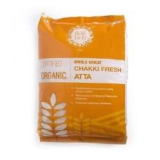 Dear Earth Organic Wheat Chakki Atta, 5 KG