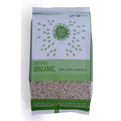 Dear Earth Organic Pear Millet (Bajra), 500 GM