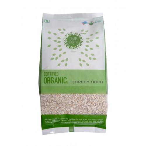 Dear Earth Organic Barley ( Jau ) Dalia, 500 GM
