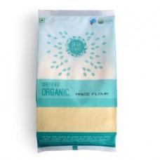 Dear Earth Organic Maize (Makka) Flour, 500 GM