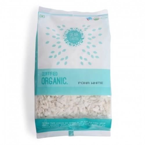 Dear Earth Organic Poha ( White ), 400 GM