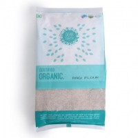 Dear Earth Organic Ragi Flour, 500 GM