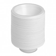 Disposable Bowl (Dona) - White , Pack Of 30 Pcs