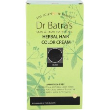 Dr. Batra Herbal Hair Color Cream - Black