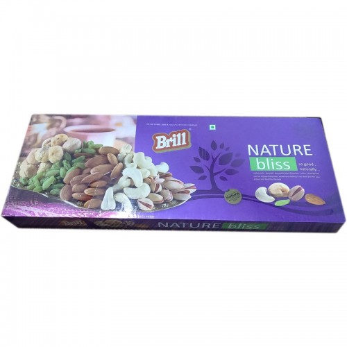 Brill Dry Fruit Gift Box - Nature Bliss So Good Naturally , 1kg Pack