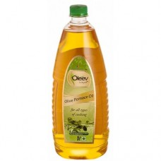 Oleev Olive Oil - Pomace, 1 Lt Bottle (Buy 1 Get 1 Free)