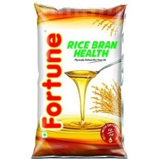 Fortune Oil - Rice Bran Health , 1 Lt Pouch
