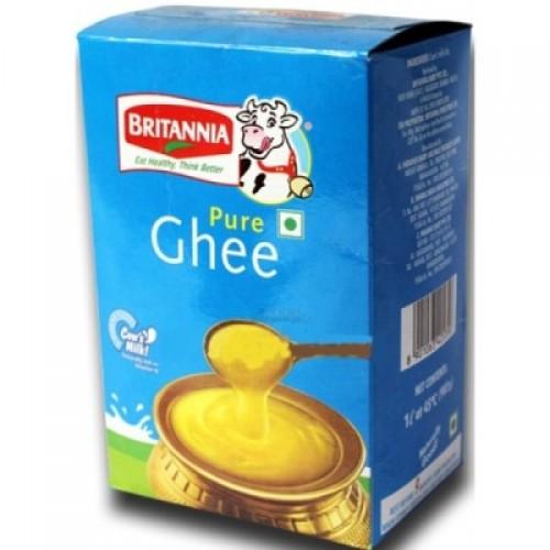 Britannia Pure Ghee - Cow Milk , 1 Lt Pack