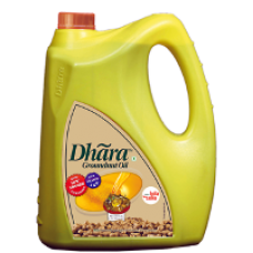 Dhara Oil - Groundnut  , 5 Lt Can