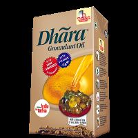 Dhara Oil - Groundnut  , 1 Lt Pack