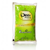 Oleev Active Oil - With Energocules , 1Lt Pouch