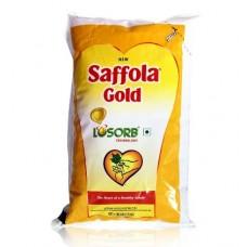 Saffola Gold Oil , 1 Lt Pouch