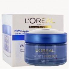 Loreal Fairness Night Cream - White Perfect