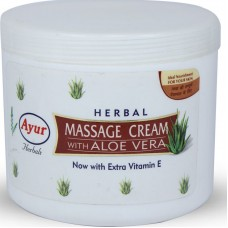 Ayur Herbals Massage Cream - Aloe Veera