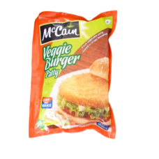 Mccain Burger Patty - Veggie , 360 Gm pack