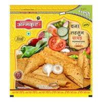 Annakoot Papad - Chana Lehsun  400GM