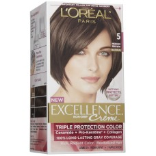 Loreal Excellence Creme Color - Brown 5