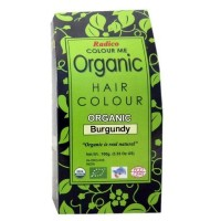 Radico Organic Hair Colour - Burgundy, 100 GM