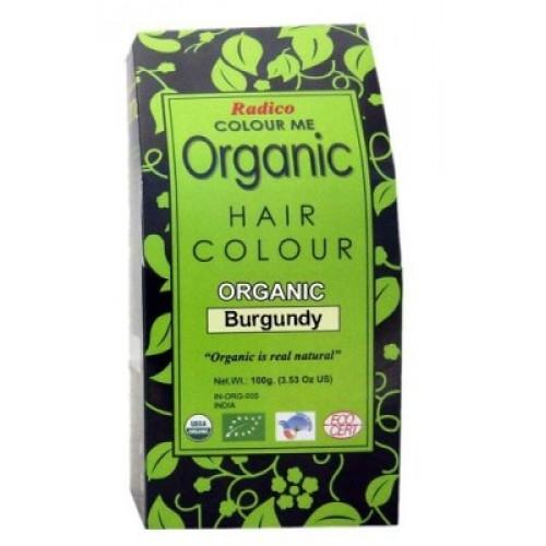 Radico Organic Hair Colour - Burgundy, 100 GM