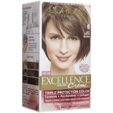 Loreal Excellence Creme Color - Light Brown 6