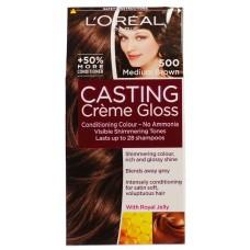 Loreal Casting Creme Gloss - Medium Brown 500
