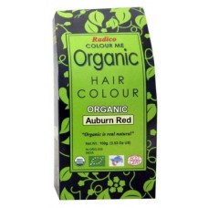 Radico Organic Hair Colour - Auburn Red, 100 GM