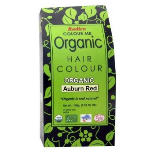 Radico Organic Hair Colour - Auburn Red, 100 GM