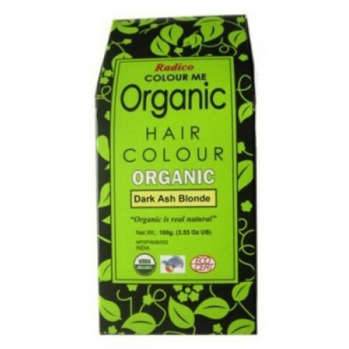 Radico Organic Hair Colour - Dark Ash Blonde, 100 GM