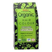 Radico Organic Hair Colour - Strawberry Blonde, 100 GM