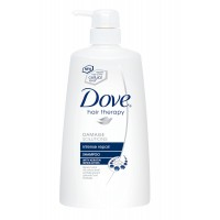 Dove Shampoo - Intense Repair 650 ML (Pump Bottle)