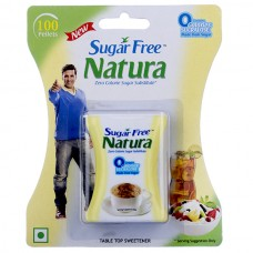Sugar Free Natura - Sweetener Tablets , 100 Pcs