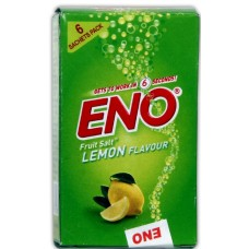 Eno Fruit Salt - Lemon , Pack Of 6 Pouch