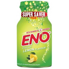 Eno Fruit Salt - Lemon , 100 GM Jar