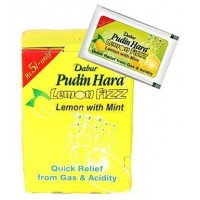 Dabur Pudin Hara - Lemon Fizz , Pack Of 6 Pouch