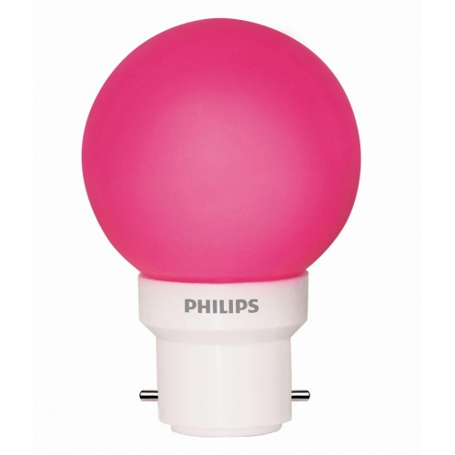 Philips LED Decorative Bulb - Pink , 0.5 W