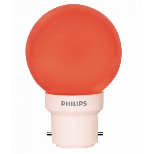 Philips LED Decorative Bulb - Red , 0.5 W