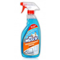 Mr. Muscle Glass Cleaner, 500 ML