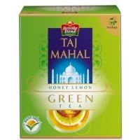 Taj Mahal Green Tea Bags - Honey & Lemon