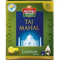 Taj Mahal Green Tea Bags - Lemon , 10 Tea bags
