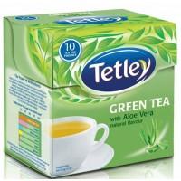 Tetley Green Tea - Aloe Vera , 30 Tea Bags