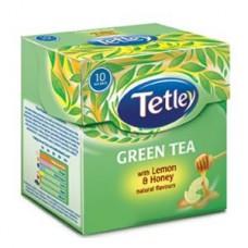 Tetley Green Tea Bags - Honey & Lemon