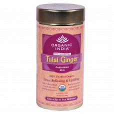 Tulsi Organic Tea -  Ginger , 100 GM Tin