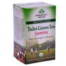 Tulsi Organic Green Tea -  Jasmine , 18 Tea Bags