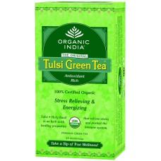 Tulsi Organic Green Tea -  Original , 25 Tea Bags