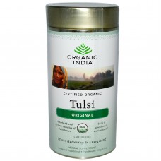 Tulsi Organic Tea -  Original , 100 GM Tin