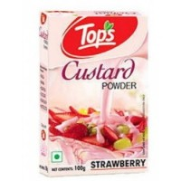Tops Custard Powder - Strawberry