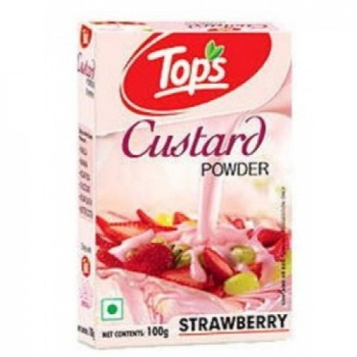 Tops Custard Powder - Strawberry